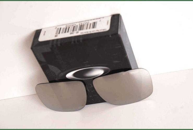 Lente de repuesto/reemplazo Oakley Holbrook color Chrome iridium cod. 43-345 - Image 3