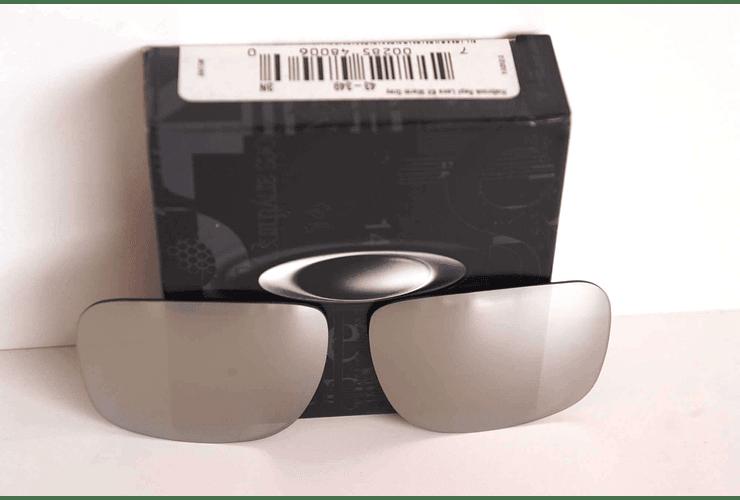 Lente de repuesto/reemplazo Oakley Holbrook color Chrome iridium cod. 43-345 - Image 4
