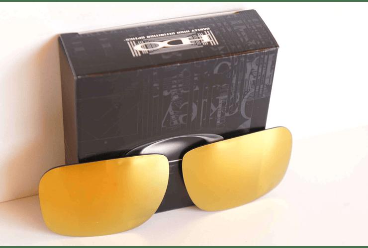 Lente de repuesto/reemplazo Oakley Holbrook color 24k GOLD cod. 43-350 - Image 3