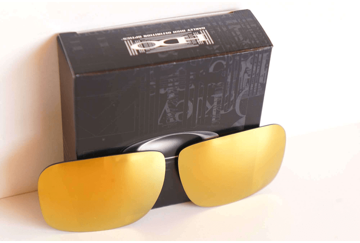 Lente de repuesto/reemplazo Oakley Holbrook color Fire Iridium cod. 43-350 - Image 3