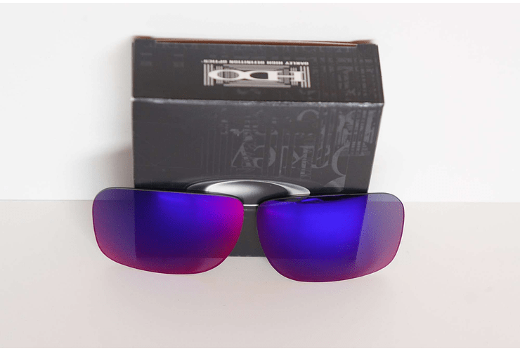 Lente de repuesto/reemplazo Oakley Holbrook color Positive Red iridium - Image 5