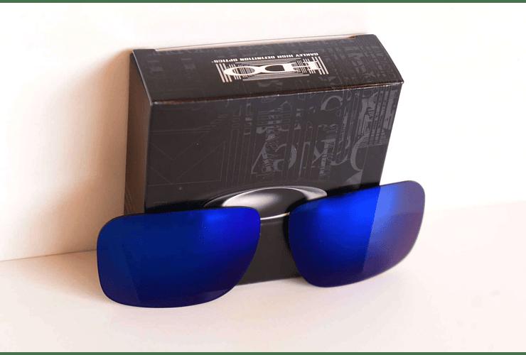 Lente de repuesto/reemplazo Oakley Holbrook color Ice iridium cod. 41-836 - Image 2
