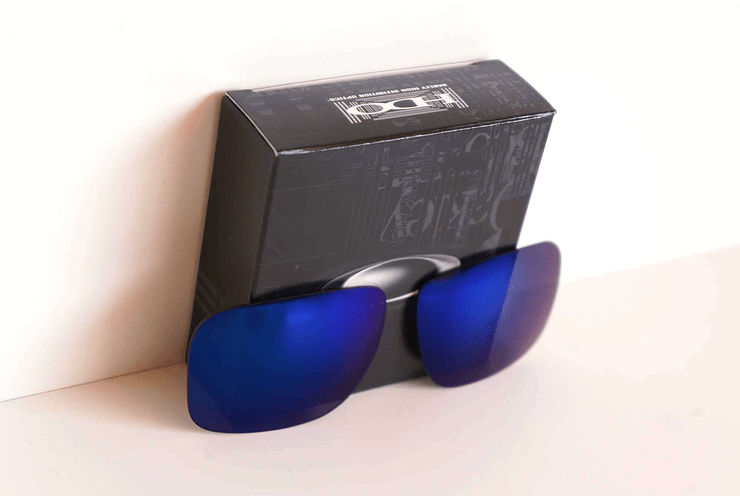 Lente de repuesto/reemplazo Oakley Holbrook color Ice iridium cod. 41-836 - Image 4