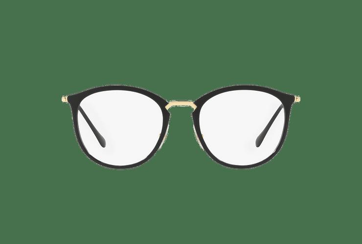 Armazón óptico Ray Ban Round RX7140 Shiny Black cod. RX7140 2000 51 - Image 12