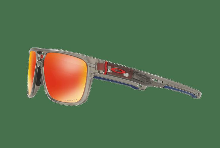 Oakley Crossrange Patch Matte Grey Ink lente Ruby PRIZM cod. OO9382-0560 - Image 2