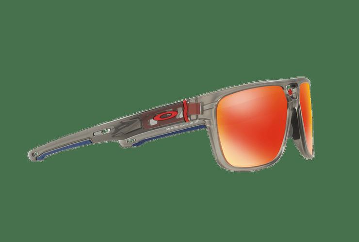 Oakley Crossrange Patch Matte Grey Ink lente Ruby PRIZM cod. OO9382-0560 - Image 10