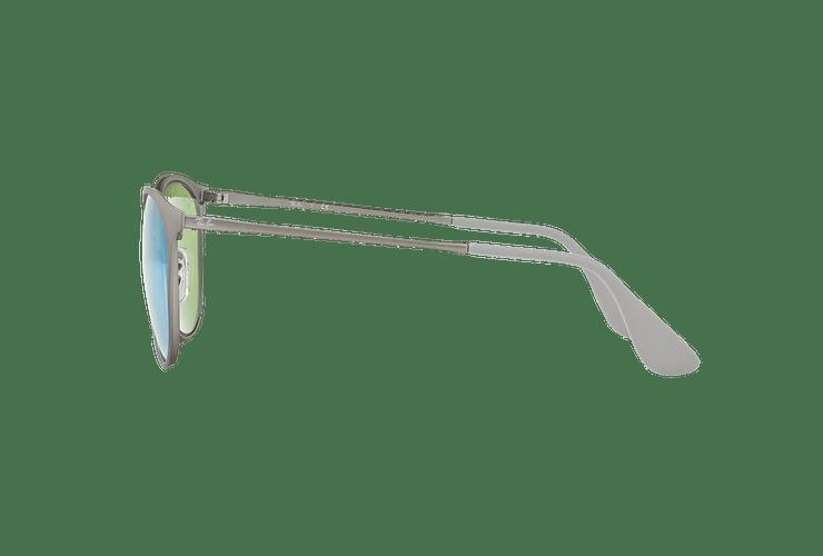 Ray Ban Erika Metal Rubber Gunmetal lente Blue / Green Light Flash cod. RB3539 9015B4 54 - Image 3