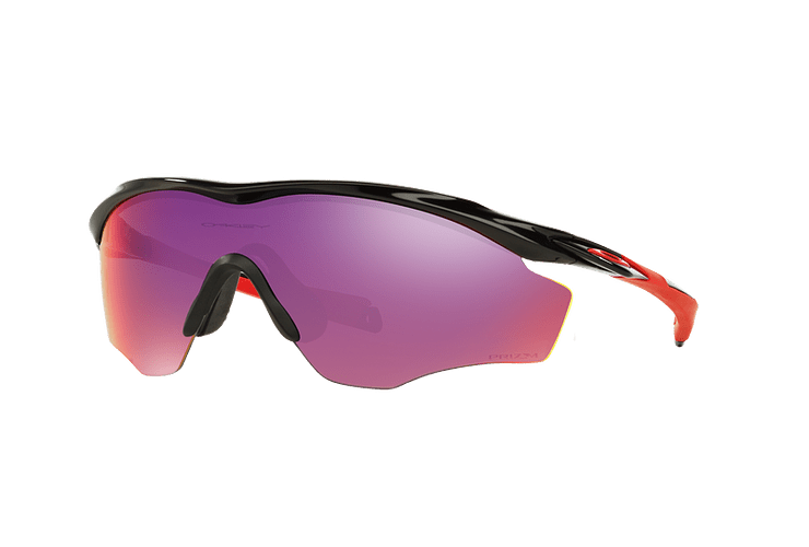 Oakley M2 Frame XL Polished Black lente Road PRIZM cod. OO9343-0845 - Image 1
