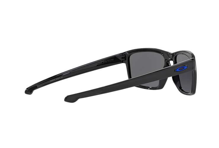 Oakley Sliver Polished Black lente Ice Iridium cod. OO9262-2857 - Image 8