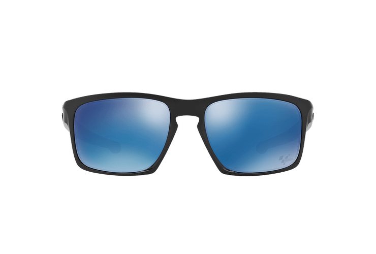 Oakley Sliver Polished Black lente Ice Iridium cod. OO9262-2857 - Image 12