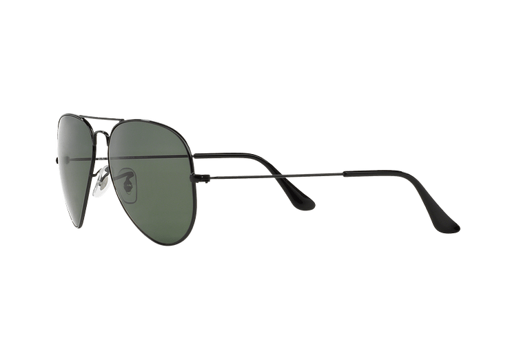Ray-Ban Aviador Black lente Crystal Green Polarized cod. RB3025 002/58 55 - Image 2