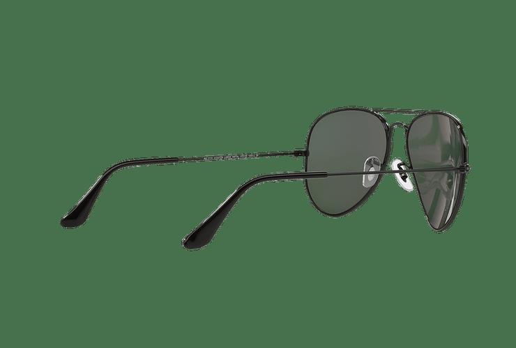 Ray Ban Aviador Black lente Crystal Green Polarized cod. RB3025 002/58 55 - Image 8
