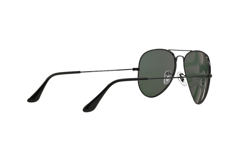 Ray-Ban Aviador Black lente Crystal Green Polarized cod. RB3025 002/58 55 - Image 8