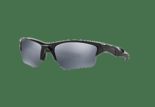 Oakley Half Jacket 2.0 XL Polished Black lente Black Iridium Polarized cod. OO9154-0562