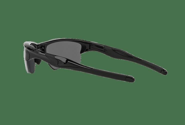 Oakley Half Jacket 2.0 XL Polished Black lente Black Iridium Polarized cod. OO9154-0562 - Image 4