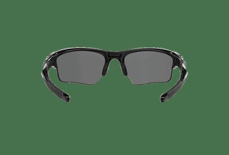 Oakley Half Jacket 2.0 XL Polished Black lente Black Iridium Polarized cod. OO9154-0562 - Image 6
