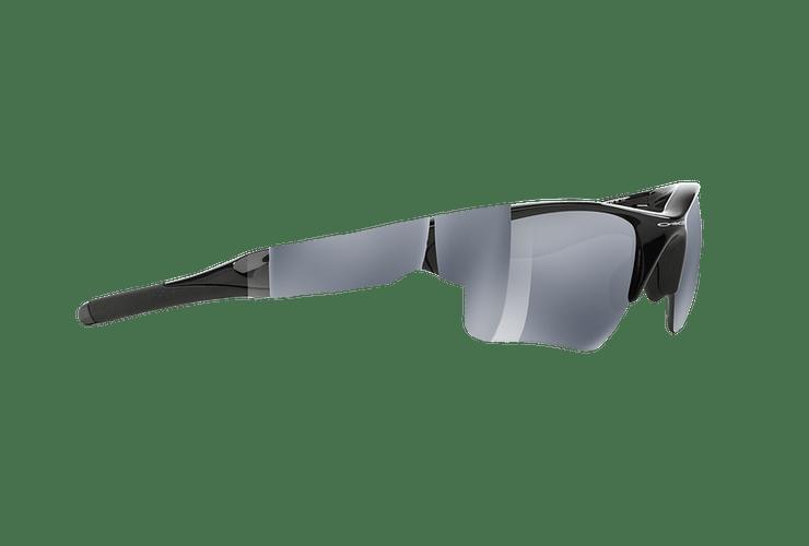 Oakley Half Jacket 2.0 XL Polished Black lente Black Iridium Polarized cod. OO9154-0562 - Image 10