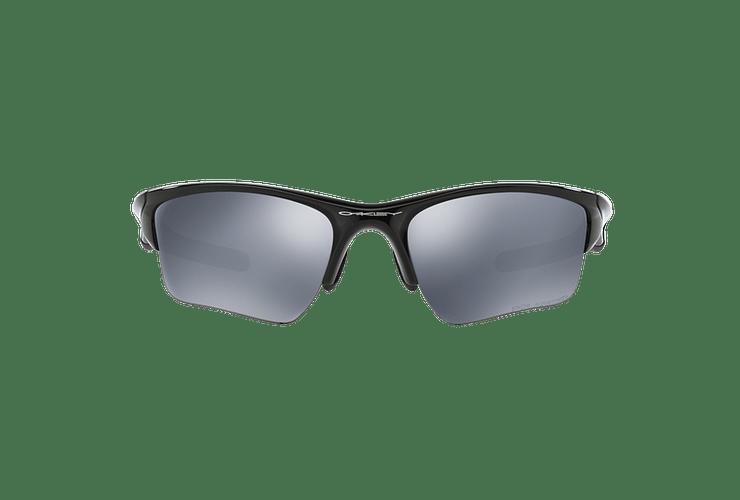 Oakley Half Jacket 2.0 XL Polished Black lente Black Iridium Polarized cod. OO9154-0562 - Image 12