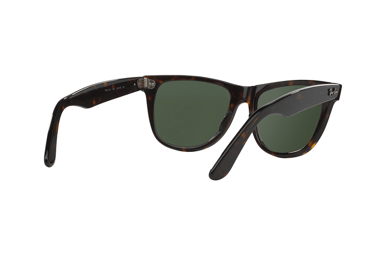 Ray Ban Wayfarer Tortoise lente Crystal Green cod. RB2140 902 50 - Image 7