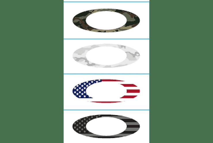 Oakley Sticker Pack Small USA Flag/Camo cod. 211-006-001