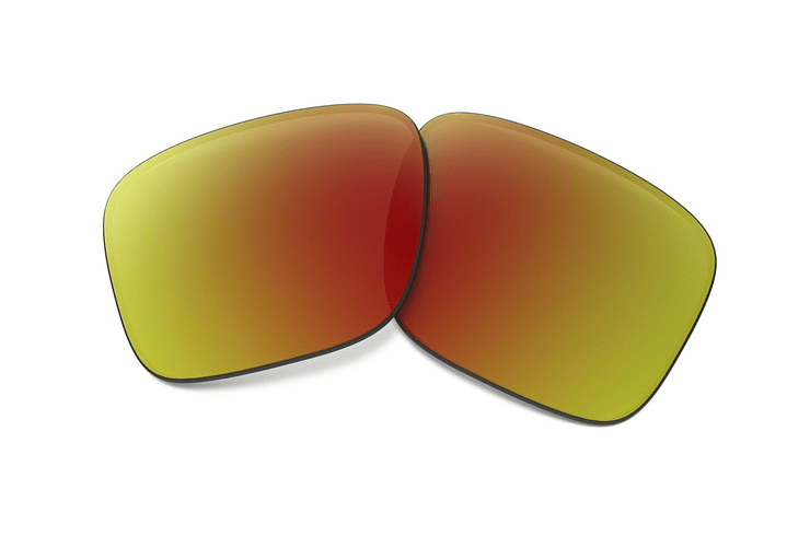 Lente de repuesto/reemplazo Oakley Holbrook color Ruby iridium POLARIZED/POLARIZADOS - Image 1