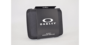 Estuche de almacenamiento Oakley Ellipse O color Black + Kit de limpieza cod. 102-457-001