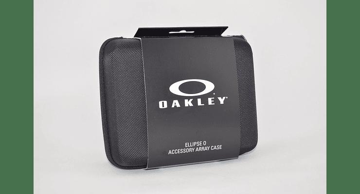 Estuche de almacenamiento Oakley Ellipse O color Black + Kit de limpieza cod. 102-457-001 - Image 1