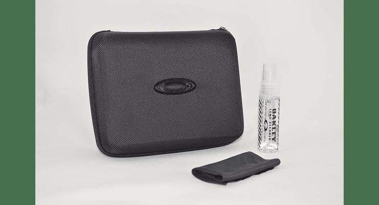 Estuche de almacenamiento Oakley Ellipse O color Black + Kit de limpieza cod. 102-457-001 - Image 2