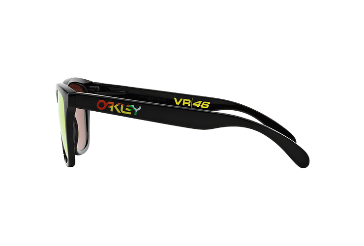 Oakley Frogskins Ed. Especial Valentino Rossi Polished Black lente Fire Iridium cod. 24-325 - Image 3