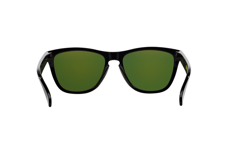 Oakley Frogskins Ed. Especial Valentino Rossi Polished Black lente Fire Iridium cod. 24-325 - Image 6