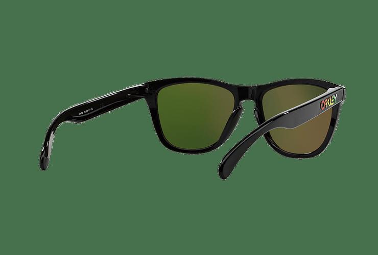 Oakley Frogskins Ed. Especial Valentino Rossi Polished Black lente Fire Iridium cod. 24-325 - Image 7