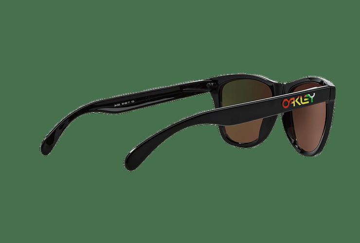 Oakley Frogskins Ed. Especial Valentino Rossi Polished Black lente Fire Iridium cod. 24-325 - Image 8
