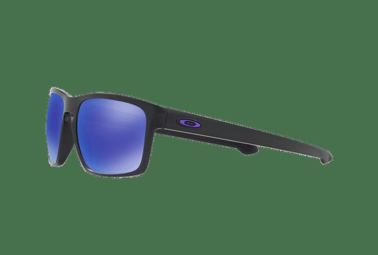 Oakley Sliver Matte Black lente Violet Iridium Polarized cod. OO9262-1057 - Image 2