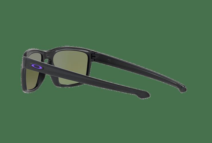 Oakley Sliver Matte Black lente Violet Iridium Polarized cod. OO9262-1057 - Image 4