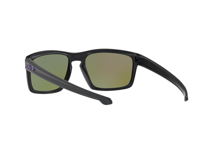 Oakley Sliver Matte Black lente Violet Iridium Polarized cod. OO9262-1057 - Image 5