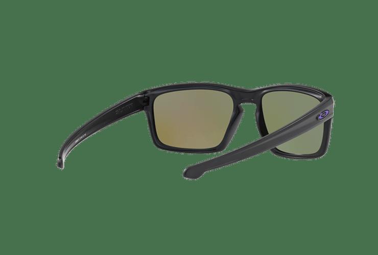 Oakley Sliver Matte Black lente Violet Iridium Polarized cod. OO9262-1057 - Image 7