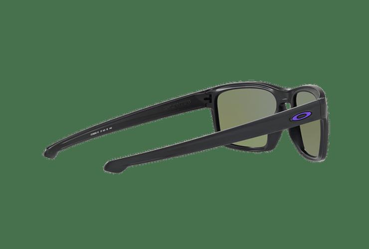 Oakley Sliver Matte Black lente Violet Iridium Polarized cod. OO9262-1057 - Image 8