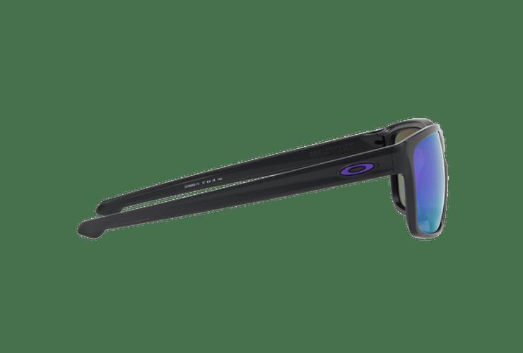 Oakley Sliver Matte Black lente Violet Iridium Polarized cod. OO9262-1057 - Image 9