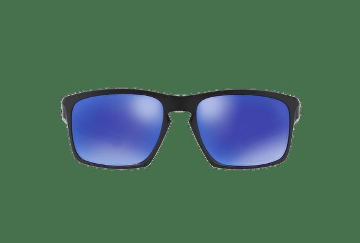 Oakley Sliver Matte Black lente Violet Iridium Polarized cod. OO9262-1057 - Image 12