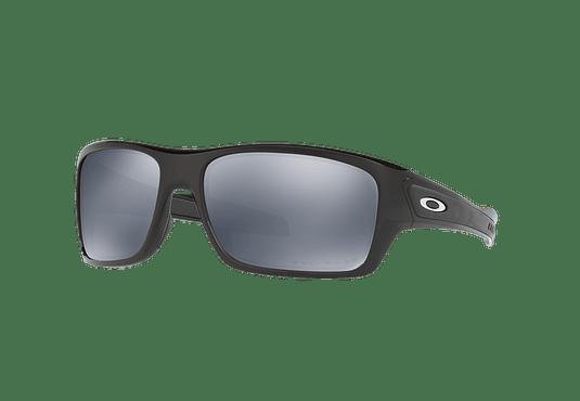 Oakley Turbine Polished Black lente Black Iridium Polarized cod. OO9263-0863