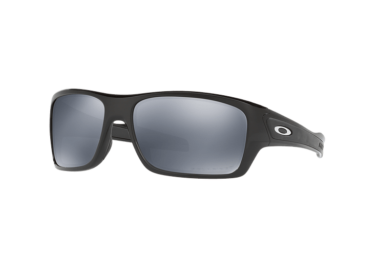 Oakley Turbine Polished Black lente Black Iridium Polarized cod. OO9263-0863 - Image 1