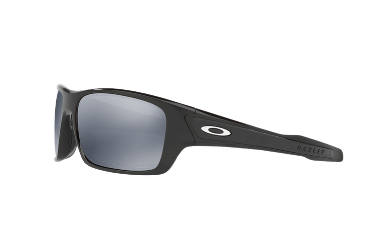 Oakley Turbine Polished Black lente Black Iridium Polarized cod. OO9263-0863 - Image 2