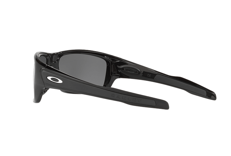Oakley Turbine Polished Black lente Black Iridium Polarized cod. OO9263-0863 - Image 4