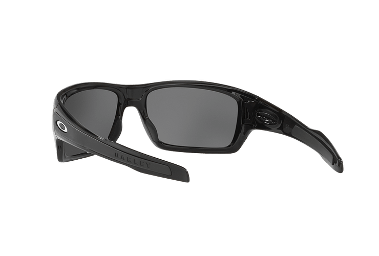 Oakley Turbine Polished Black lente Black Iridium Polarized cod. OO9263-0863 - Image 5