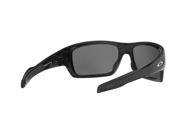 Oakley Turbine Polished Black lente Black Iridium Polarized cod. OO9263-0863 - Image 7