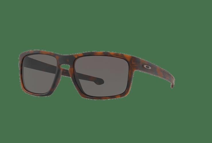 Oakley Sliver Matte Brown Tortoise lente Warm Grey cod. OO9262-0357 - Image 1