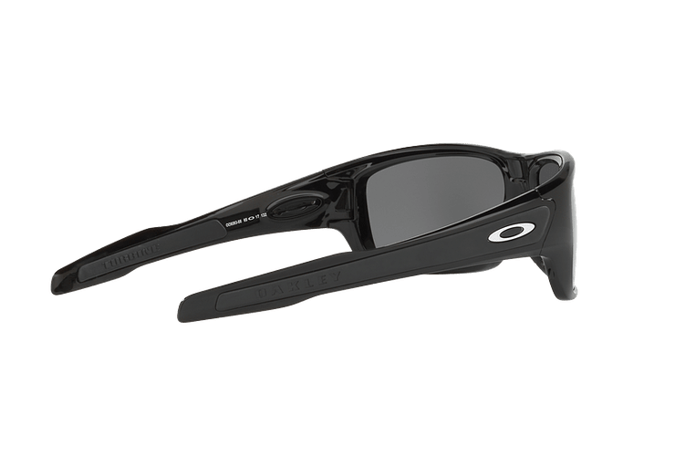 Oakley Turbine Polished Black lente Black Iridium Polarized cod. OO9263-0863 - Image 8