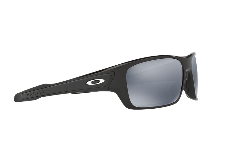 Oakley Turbine Polished Black lente Black Iridium Polarized cod. OO9263-0863 - Image 10