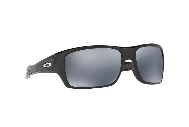 Oakley Turbine Polished Black lente Black Iridium Polarized cod. OO9263-0863 - Image 11