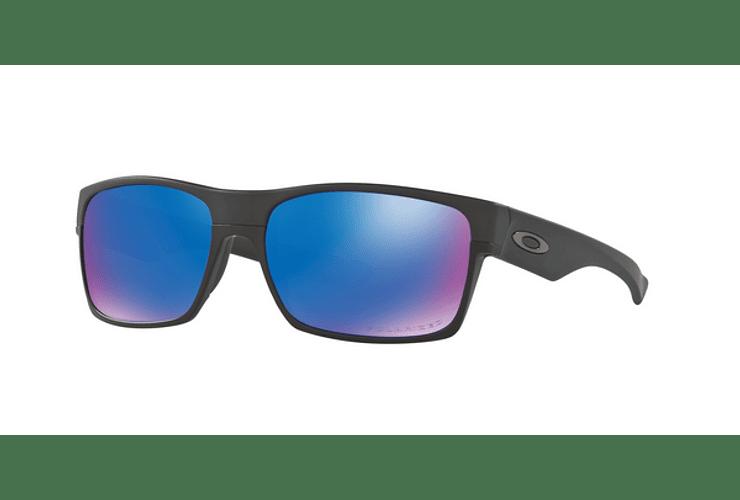 Oakley Twoface Matte Black lente Sapphire Iridium Polarized cod. OO9189-3560 - Image 1